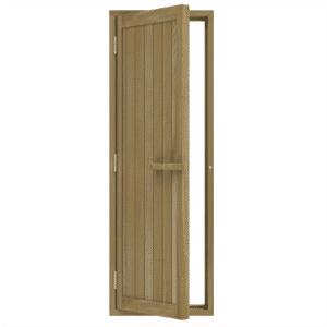 """Bsaunas Solid Cedar Door 700x2040mm(27 1/2"""" x 80 1/2″)Left Hand734-4SD"""